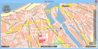XServer - Carte des circuits de transport scolaire